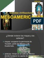 los mayas y  aztecas Presentación kensel.pptx