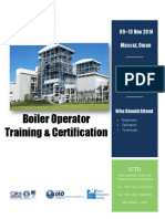 Boiler Operator Training & Certification