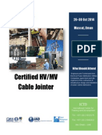 Certified HV MV Cable Jointer