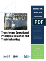 Transformer Operational Principles, Selection and Troubleshooting