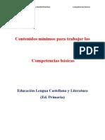 Contenidos Primaria Para Trabajar Competencias Básicas