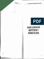 III Guias Clinicas en Obstetricia y Perinatologia