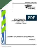 ENERGEX Standard 00233 Inverters _30kW to 1000kW