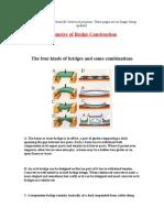 Geometry of Bridge Construction