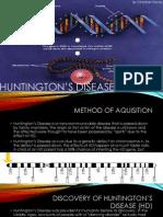 Huntington's Disease by Christian Piscos