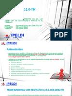 DS 006-2014 TR Análisis Del Reglamento Modificado