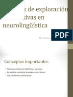 Técnicas de Exploración No Invasivas en Neurolingüística