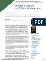 George Reisman's Blog on Economics, Politics, Society, And Culture_ Piketty's Capital_ Wrong Theory_Destructive Program
