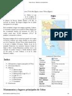 Tebas (Grecia) - Wikipedia, La Enciclopedia Libre