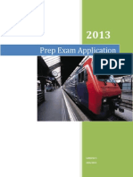 PrepExamApplication User Manual