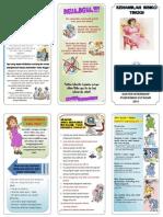 Pamflet KIA-KB Resiko Tinggi Kehamilan (Dr. Putri Fitrania)