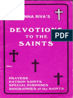 Devotions to the Saints by Anna Riva