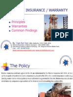 marine insurance/warranty bywarranty surveyors dubai