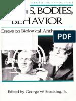 Bones, Bodies, Behavior_ Essays - George W. Stocking Jr_.pdf