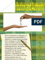 Power Distribution and Authority