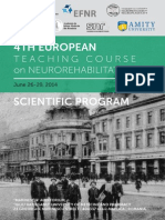 4th Teaching Course on Neurorehabilitation