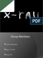 Presentation on X-Rays Machine