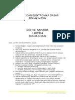 Listrik Dan Elektronika Dasar
