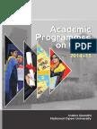 Academic Programmes IGNOU
