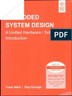 embedded system design by frank vahid