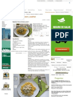 Receta Pasta Con Salsa de Calabacin y Azafran, Para Ladaura - Petitchef