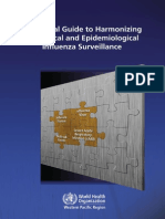 A Practical Guide to Harmonizing Virological and Epidemiological Influenza Surveillance