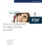 Implement Complex Change at Scale