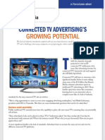 CONNECTED TV ADVERTISING'S GROWING POTENTIAL