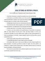 25 Regole Peter Lynch