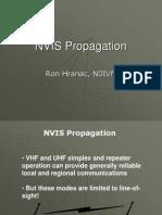 Nv is Propagation
