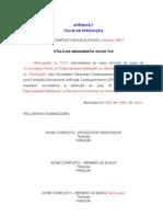 FIC - MONOGRAFIA E TCC  Apendice F - Aprovação
