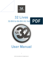 32 Lives User Manual