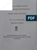 National Board of Wildlife agenda