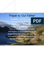 Prayer to Our Father