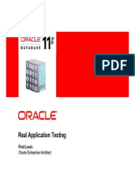 Oracle Real Application Testing