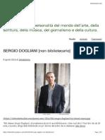 SERGIO DOGLIANI [non-bibliotecario] | letto&detto