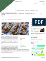 Alterkitchen – Un'Ode Alle Pazze Stagioni – Zucchine Ripiene Di Porri e Speck