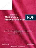 Journal of Mechanics of Materials and Structures