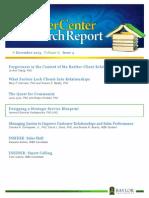 KCRR - 2013 Dec - Designing a Strategic Service Blueprint