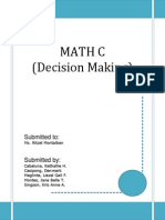 Math C (new) Decision Making