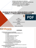 Programa de Induccion y Socializacion Editado