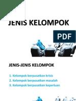 JENIS KELOMPOK
