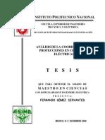 Análisis de la coordinación de protecciones en centrales eléctricas