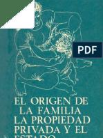 Engels-el origen de la propiedad privada...