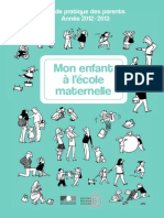 guide des parents maternelle
