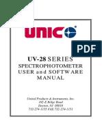 UV-2800 Software Manual