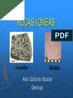 3 Rocas Igneas