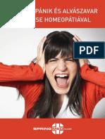 Stressz Panik Es Alvaszavar Kezelese Homeopatiaval