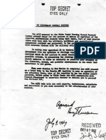 Directive to General Twining by President Truman, July 9 1947
