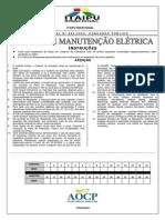 Caderno Tecnico Manutenção Eletrica